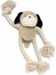 Ethical Pet Dog Plush & Rope Dog Toy