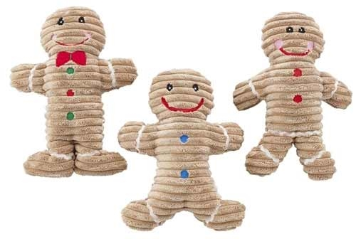 Spot Ethical Holiday Gingerbread Dog Toy