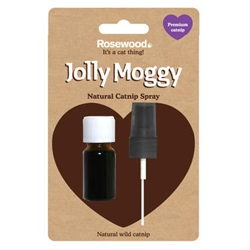 Jolly Moggy 100% Natural Catnip Spray 10ml