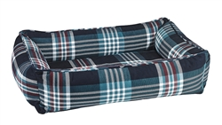 Urban Lounger Glen Meadow Tartan Microvelvet