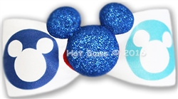 Glitter Mickey, Blue