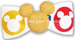 Glitter Mickey, Yellow