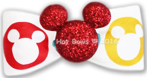 Glitter Mickey, Red