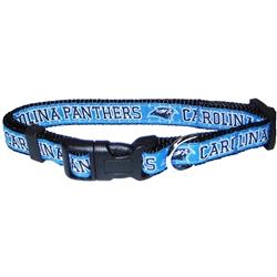 NFL Carolina Panthers Dog Collar - Ribbon