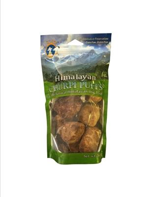 Himalayan Churpi Micro Puffs™ Yak Milk Cheese Dog Treat From Nepal