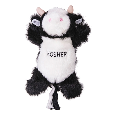 Kosher Cow with Rope Tug