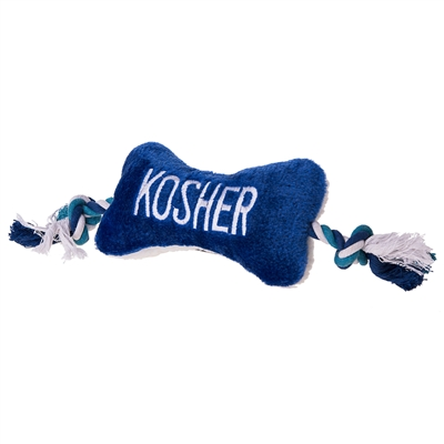 Kosher Bone with Rope Tug