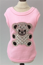 Teddy Bear Ribbed Tank