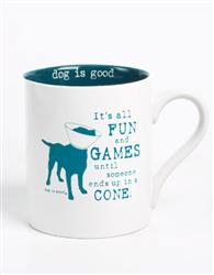It's All Fun and Games 4 pk mug set