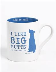 I Like Big Mutts 4 pk mug set