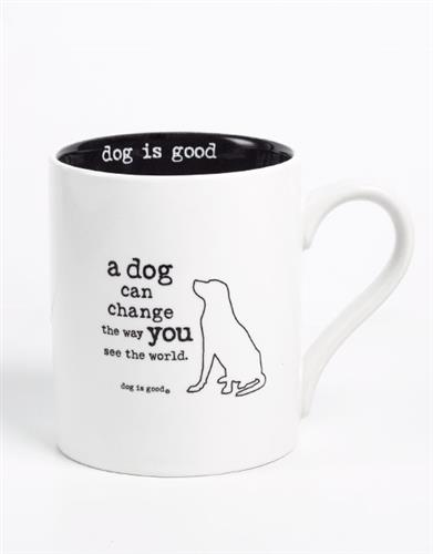 A Dog Can Change the Way You See the World 4 pk mug set