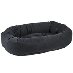 Donut Bed Flint Microvelvet