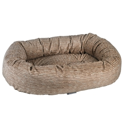 Donut Bed Wheat Microcord