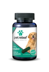 Large Breed Capsules: Organic CBD for Large Dogs