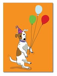 Birthday:  Jack Russell Terrier danding