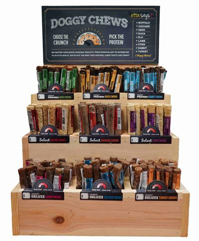 Etta Says US Ultimate Chew Counter Display