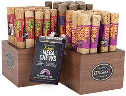 MEGA Select Chews Starter Kit - Display & 54 Chews