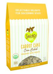 Snicky Snaks USDA Organic Carrot Cake Treat, 10 oz
