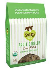 Snicky Snaks USDA Organic Apple Cobbler Treat, 10 oz
