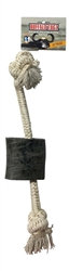 "Water Buffalo Hornz 12"" TUGZ Rope Toy"