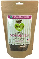 Snicky Snaks USDA Organic Chicken Meatball, wt 5.5oz