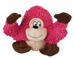 Tender-Tuffs Big Shots - Shaggy Pink Gorilla - Large Breed Toy