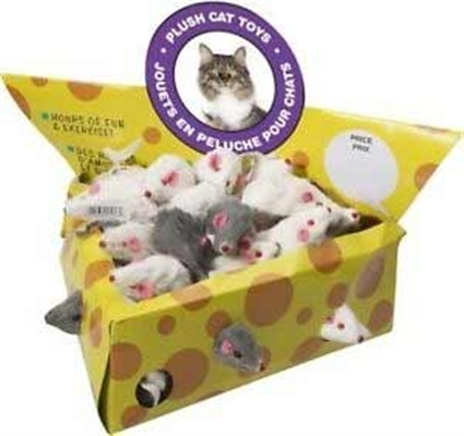 Spot Ethical - 2 In Plush Mice - 24 Pack