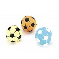 Ethical Pet Vinyl Soccer Balls 3 In (Assorted Colors)