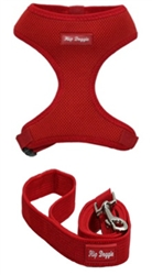 Red Ultra Comfort Mesh Harness Vests by Hip Doggie