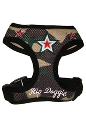 Camo Mesh Super Star Harness Vest by Hip Doggie