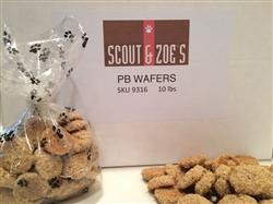 PB Wafers BULK Dog Treats (10 lbs)