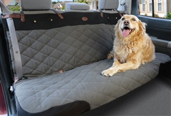 "Premium Bench Pet Seat Cover - Green or Grey | 56 "" or 60"" wide"