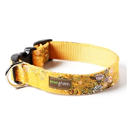 'Honey' Cotton Voile Dog Collars & Leashes