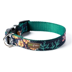 'Birdie' Cotton Voile Dog Collars & Leashes