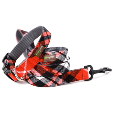 Flannel PJs Dog Collars & Leashes