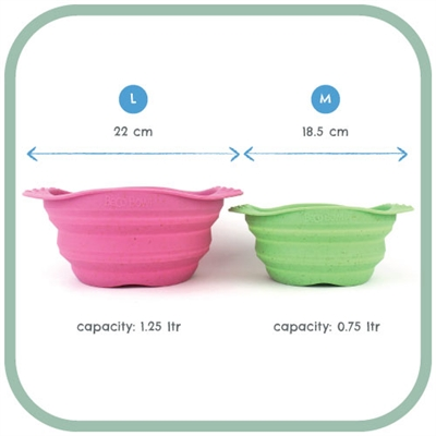 Beco Travel Bowl - Eco Friendly Pet Bowls