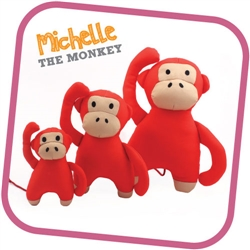 Monkey - Beco Family Plush Toys for Dogs