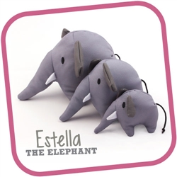 Elephant - Beco Family Plush Toys for Dogs