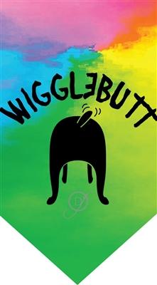WiggleButt Bandana by Dog Fashion Living
