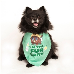 I'm the Fur Baby! Dog Bandana by Dog Fashion Living