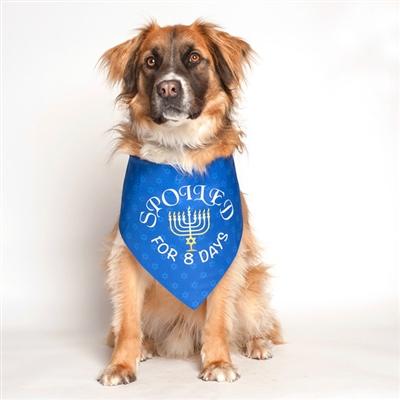 Hanukkah Dog Bandana by Dog Fashion Living