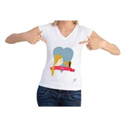 Family Short Sleeve Shirt by Dog Fashion Living