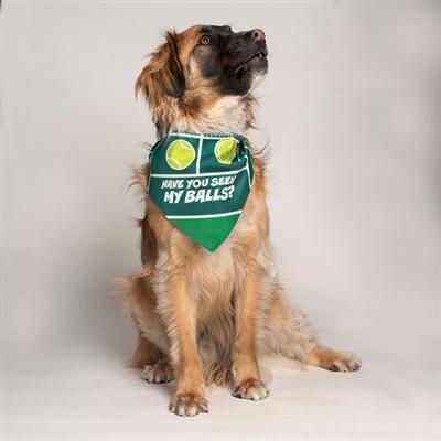 Have You Seen My Balls? Dog Bandana