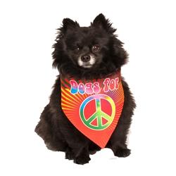 Dogs For Peace Dog Bandana by Dog Fashion Living