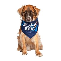 Beach Bum Blue Dog Bandana by Dog Fashion Living