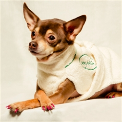 Dog Bathrobe by Dog Fashion Spa