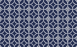 Pet Placemat - Indigo Design