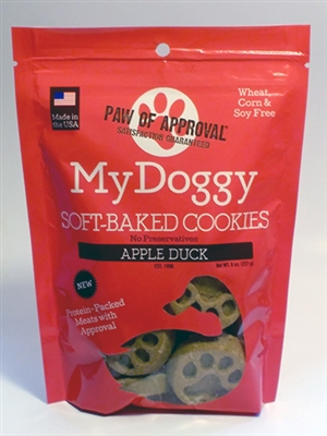 8oz Bag of Apple Duck My Doggy™ Protein Line