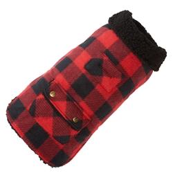 Buffalo Check Fleece Coat