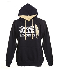 Never Walk Alone Hoodie, Navy
